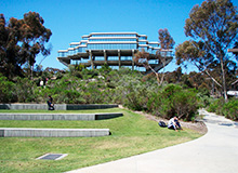 Université à San Diego UCSD Californie